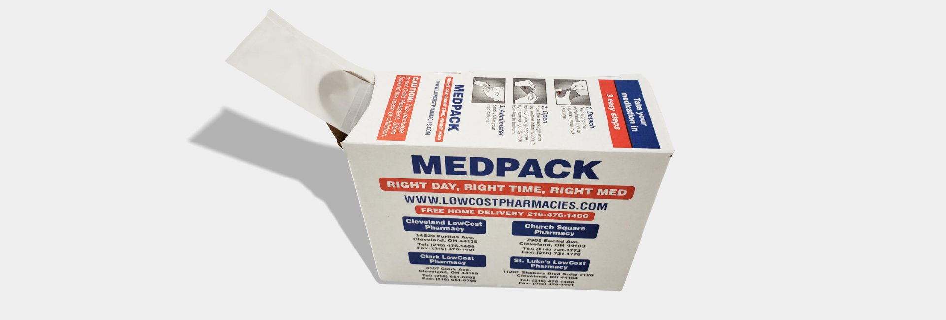 Mepack Box front
