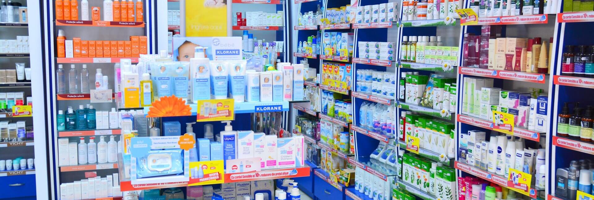 medicines inside the store
