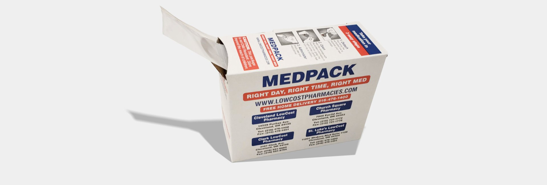 Mepack Box zoomed