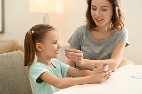 Convincing Your Child to Take Their Medicine